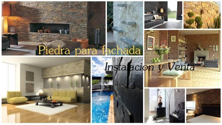 Venta e Instalacion de Recubrimientos Residenciales: Casas de estilo  por PECASA RECUBRIMIENTOS, Moderno
