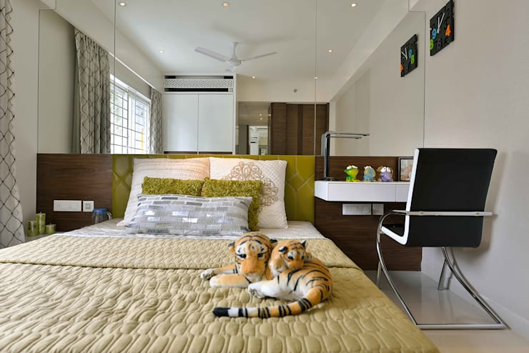 Heera High Life:  Bedroom by SM Studio