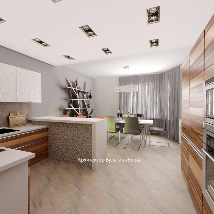 Кухня: Кухни в . Автор – Архитектурное Бюро 'Капитель', Лофт