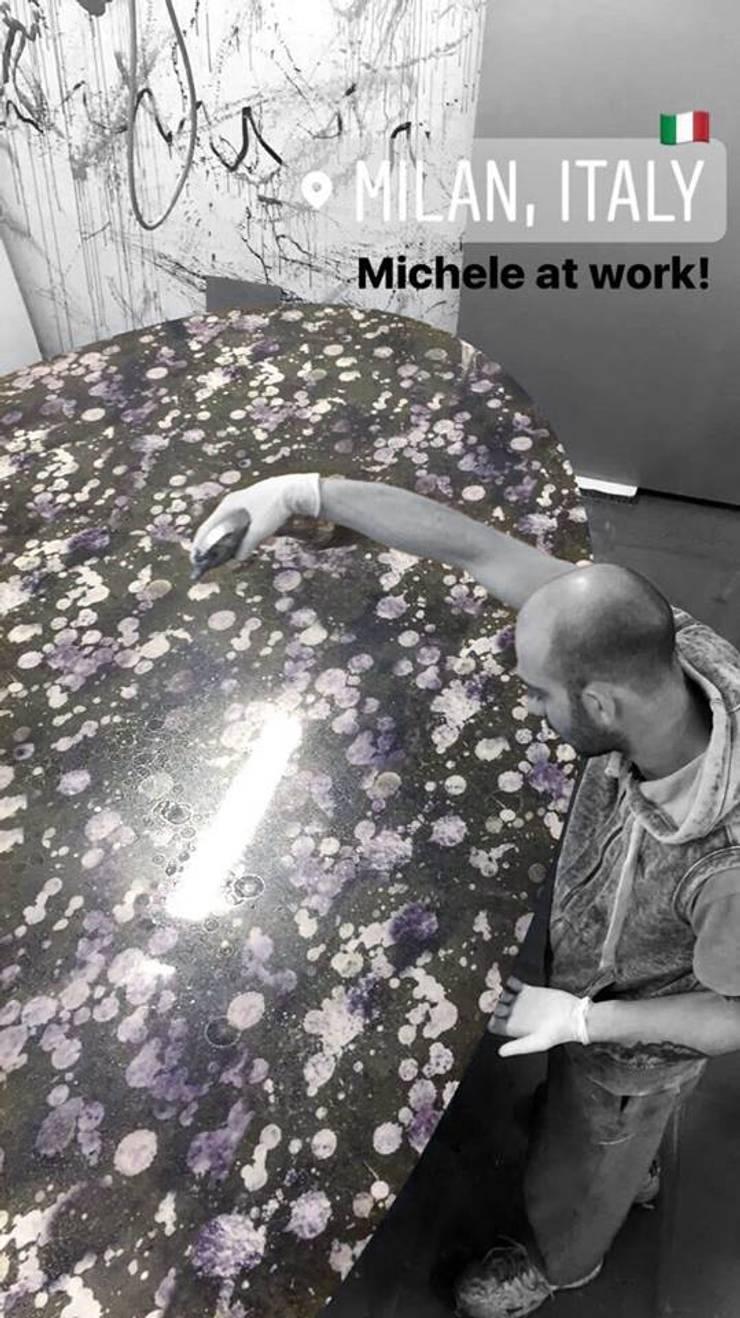 Alex Turco - Art Panels:  Walls & flooring by S. T. Unicom Pvt. Ltd.