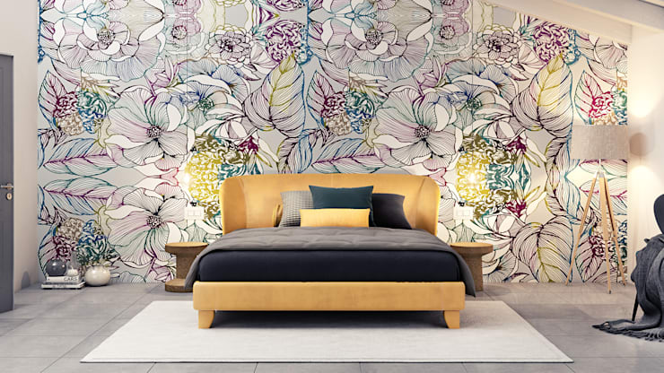 Kamar Tidur oleh Pitzus Group Costruzioni S.r.l., Modern