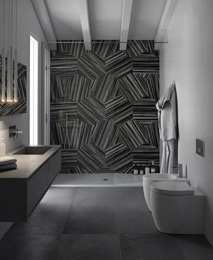 Kamar Mandi oleh Pitzus Group Costruzioni S.r.l., Modern