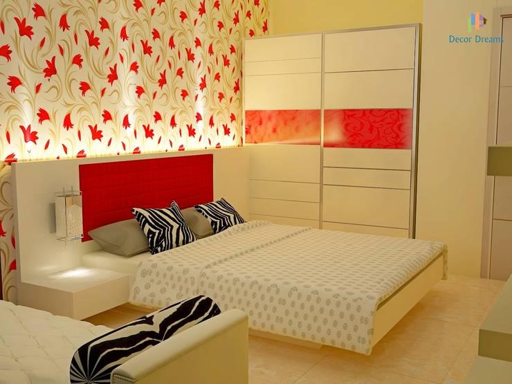 Independent Bungalow, JP Nagar—Mr.Raghu:  Bedroom by DECOR DREAMS