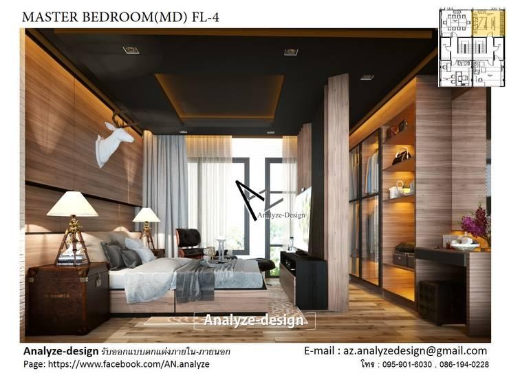 bedroom:  ตกแต่งภายใน by Analyze-design