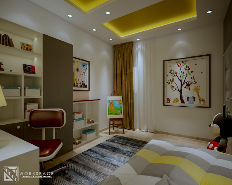 Kid's Space | Bedroom:  Bedroom by WORKSPACE architects & interior designers