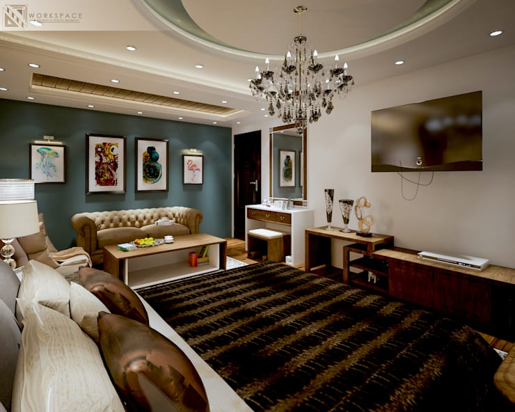 Royal suite | Bedroom:  Bedroom by WORKSPACE architects & interior designers