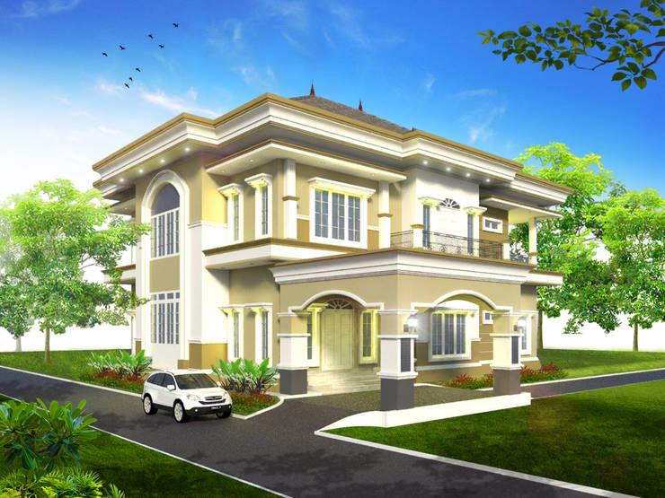 Rumah Tinggal Mr. Fakundus Tjoran, Kutai Kartanegara, Kaltim:   by Artisia Studio
