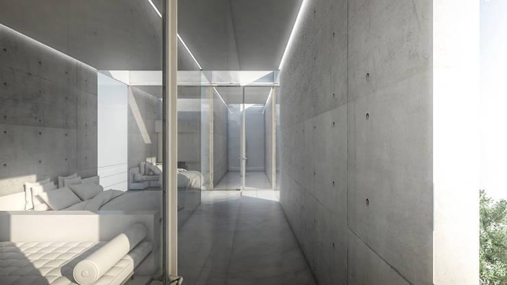 S-House:  Kamar Tidur by KERA Design Studio