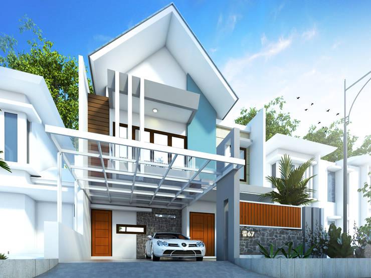 Rumah Tinggal Mr. Liem, Cileungsi, Bogor:   by Artisia Studio