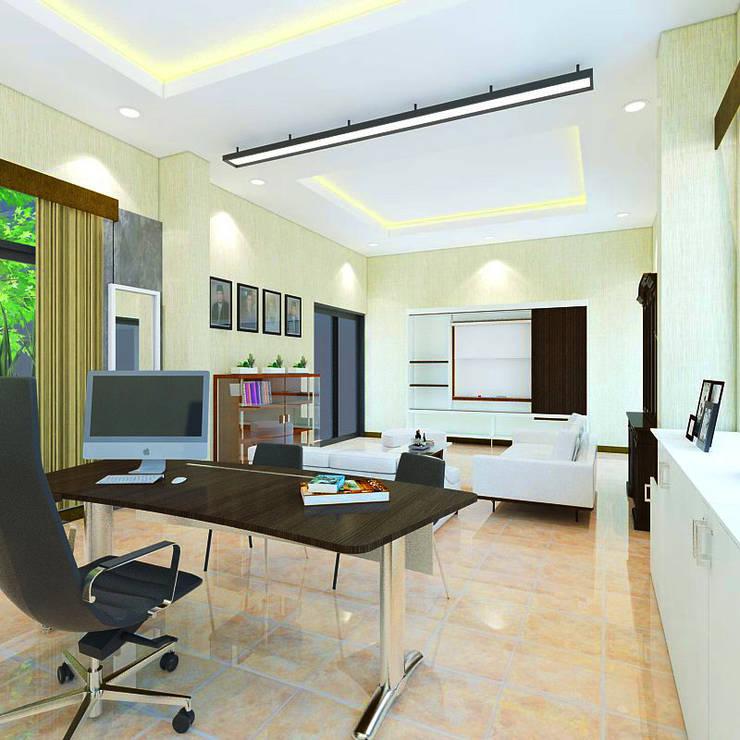 Interior Ruang Direksi Pabrik Rokok NB, Tanggulangin, Sidoarjo:   by Artisia Studio