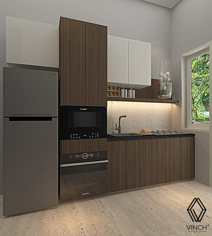 Kitchen :  Unit dapur by Vinch Interior