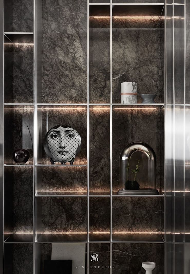 璀璨.脈脈|Van der Vein:  藝術品 by 理絲室內設計有限公司 Ris Interior Design Co., Ltd.