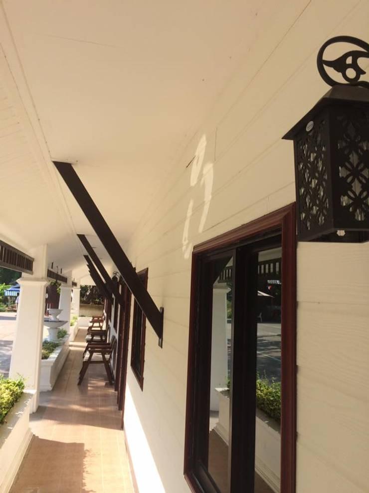 ชวาลัน รีสอร์ท นครปฐม ออกแบบอาคาร คสล.ชั้นเดียว.:   by W INTERIOR DESIGN