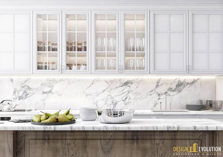 Cocinas de estilo  por Design Evolution, Clásico
