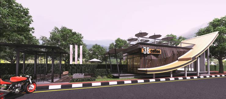 3E COFFEE SHOP @ Chiangmai sport club:   by NSign Studio