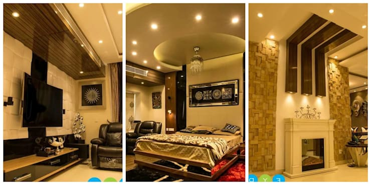 project:  Bedroom by Gargee Kashyap homify