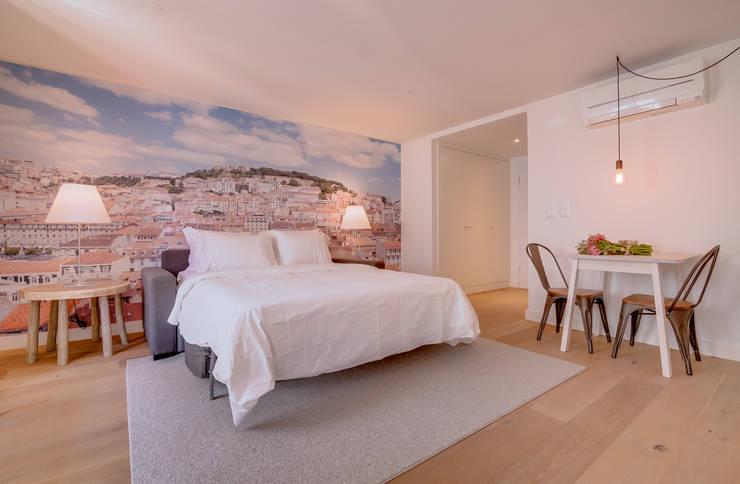 Apartamentos Salitre Lisboa - Apartments Salitre Lisbon: Quartos  por Ivo Santos Multimédia