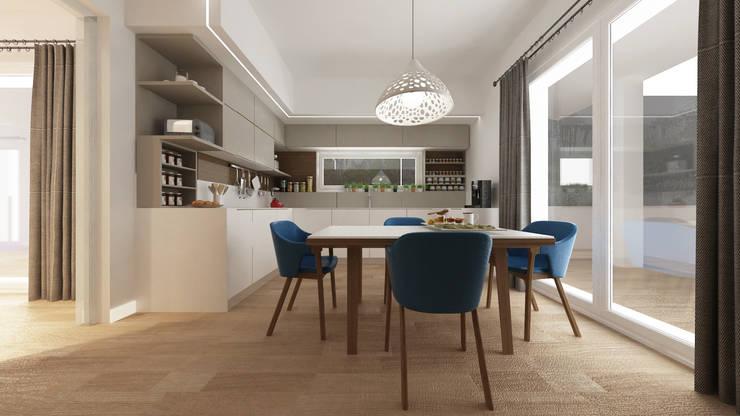 Cocinas de estilo mediterraneo por De Vivo Home Design