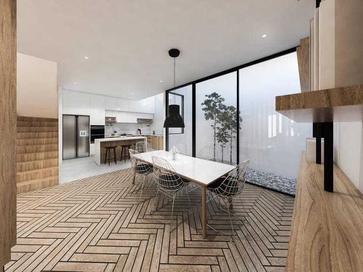 Mutiara Palace:  Ruang Makan by KERA Design Studio