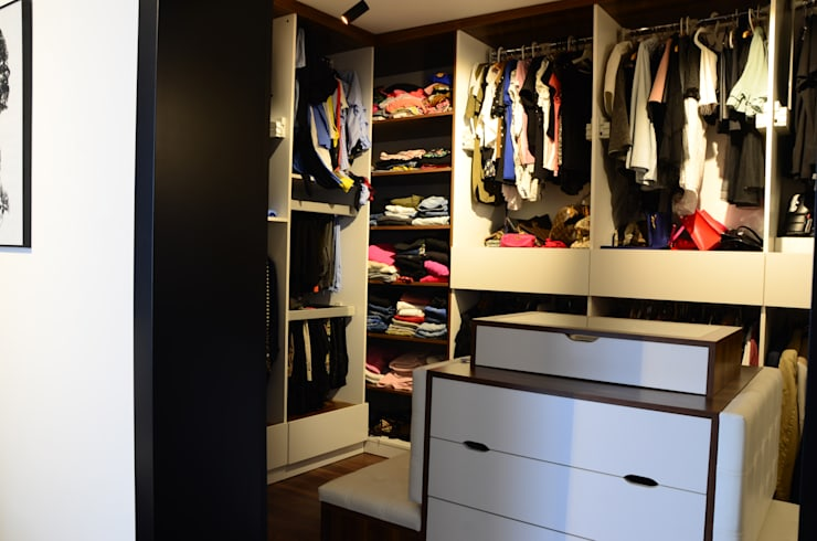 Arte FABBRO – Giyinme Odası:  tarz Giyinme Odası