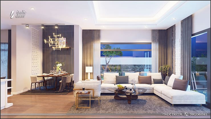 modern Living room by ITALIC DECOR
