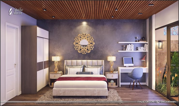 modern Bedroom by ITALIC DECOR