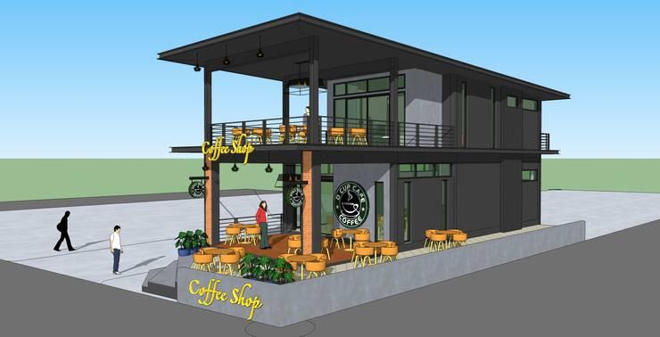 ร้านกาแฟ:   by เขียนแบบ ออกแบบ บ้าน อาคาร รายการคำนวณ