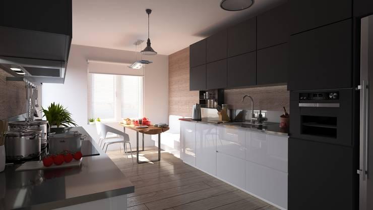 Magic Mimarlık – Mesa Sitesi: modern tarz Mutfak