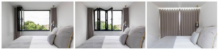 Phòng ngủ by R+L Architect