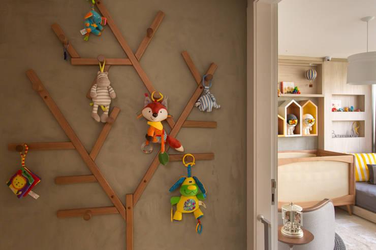غرفة الاطفال تنفيذ Pri Martins Arquitetura