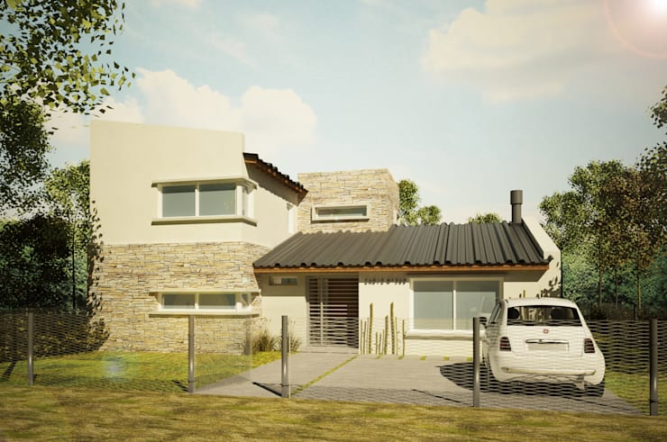 Single family home by Dsg Arquitectura