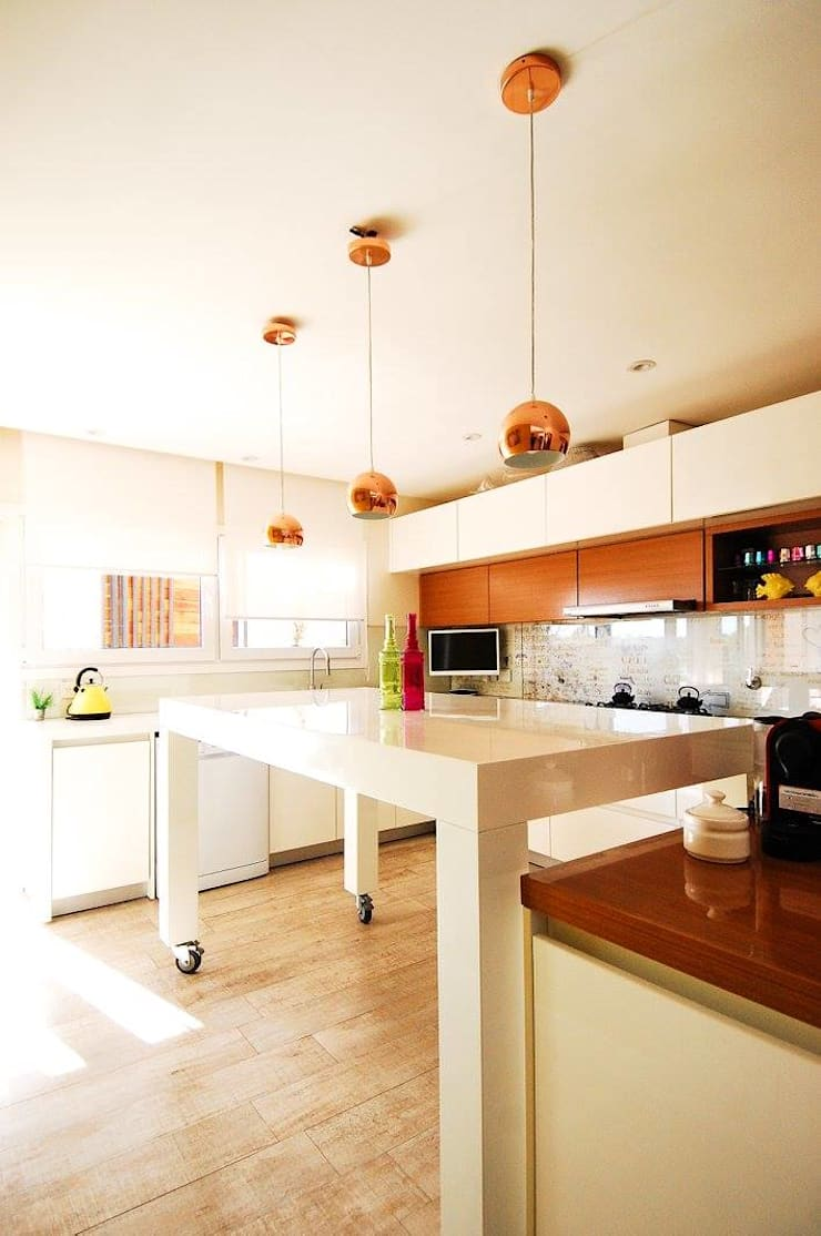 Mesada de Cocina: Cocinas de estilo  por Dsg Arquitectura ,