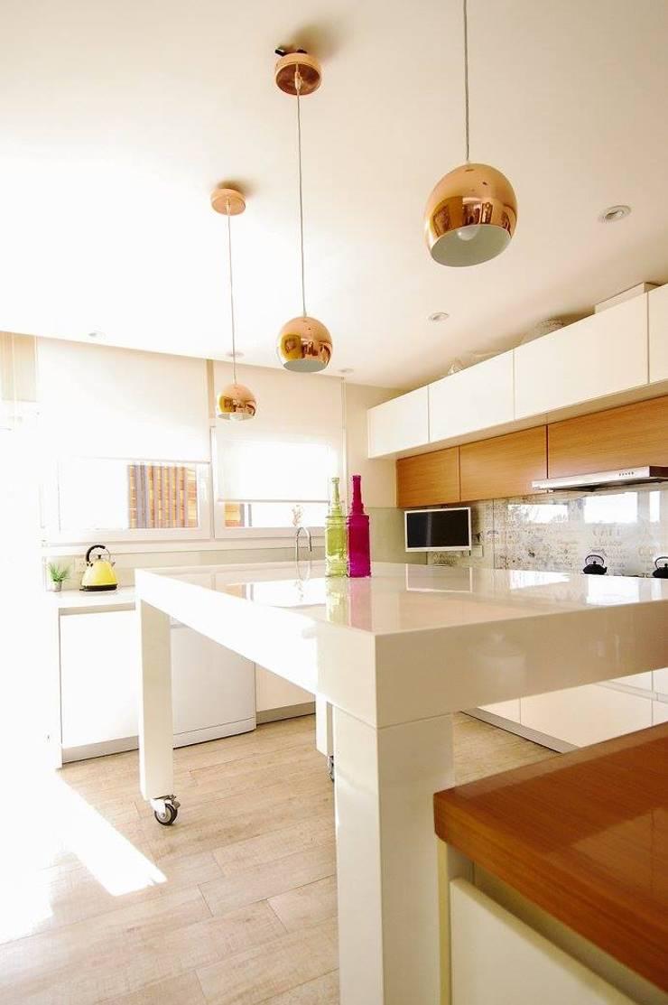 Mueble de Cocina.: Cocinas de estilo  por Dsg Arquitectura ,