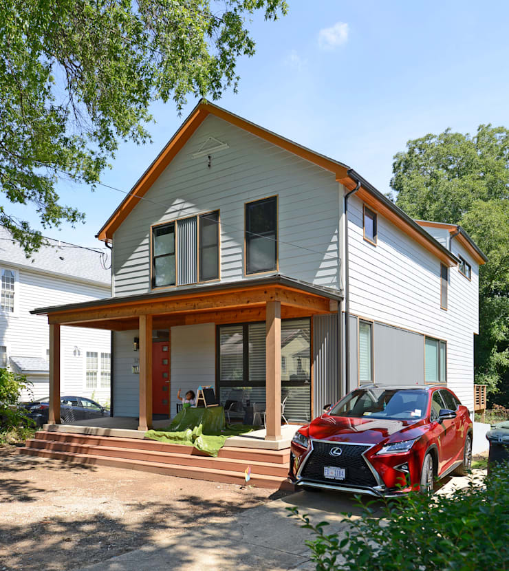 Brookland House Renovation/Addition:  Single family home by ARCHI-TEXTUAL, PLLC