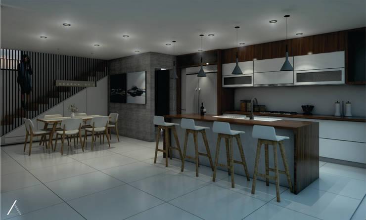 Oleh TANGENTE ARQUITECTURA Y CONSTRUCCIÓN Modern Beton