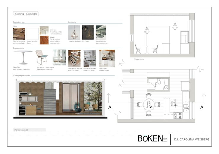 de estilo  por Bōken Studio, Escandinavo