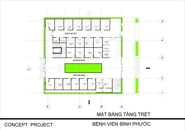 Casas multifamiliares de estilo  por NPAGROUP CO.,LTD