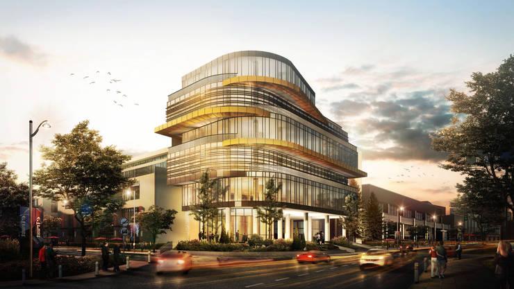 GRAHA PSP - SOLO, JAWA TENGAH:  Gedung perkantoran by IMG ARCHITECTS