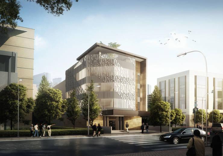 SUNDA OFFICE - BANDUNG, JAWA BARAT:  Gedung perkantoran by IMG ARCHITECTS