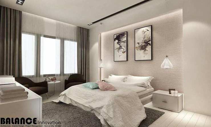Master Bedroom:   تنفيذ Balance Innovation