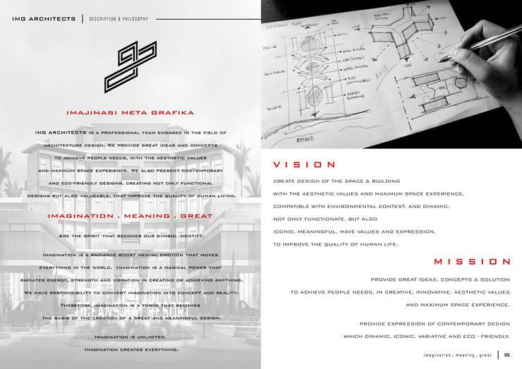 COMPANY PROFILE:  Gedung perkantoran by IMG ARCHITECTS