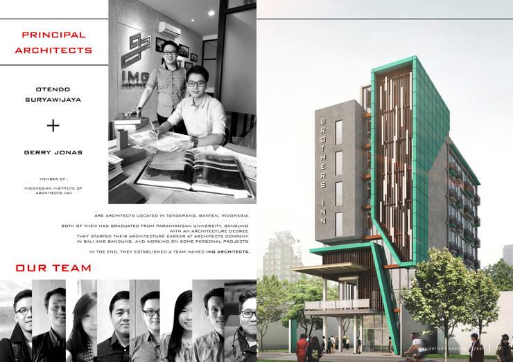 COMPANY PROFILE - PRINCIPAL:  Gedung perkantoran by IMG ARCHITECTS