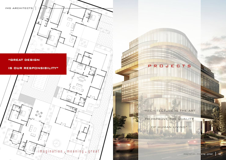 PROJECTS:  Gedung perkantoran by IMG ARCHITECTS