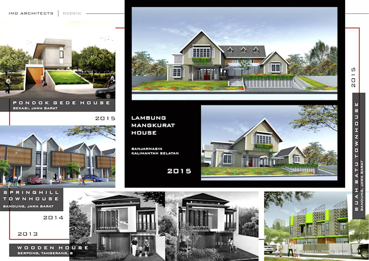 RESIDENTIAL: Ruang Komersial oleh IMG ARCHITECTS, Modern