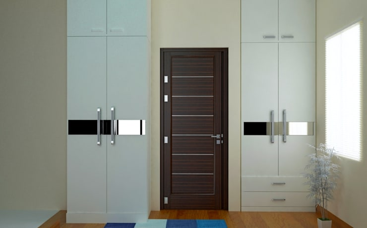 Independent Bungalow, RR Nagar—Mr. Mohan: modern Bedroom by DECOR DREAMS