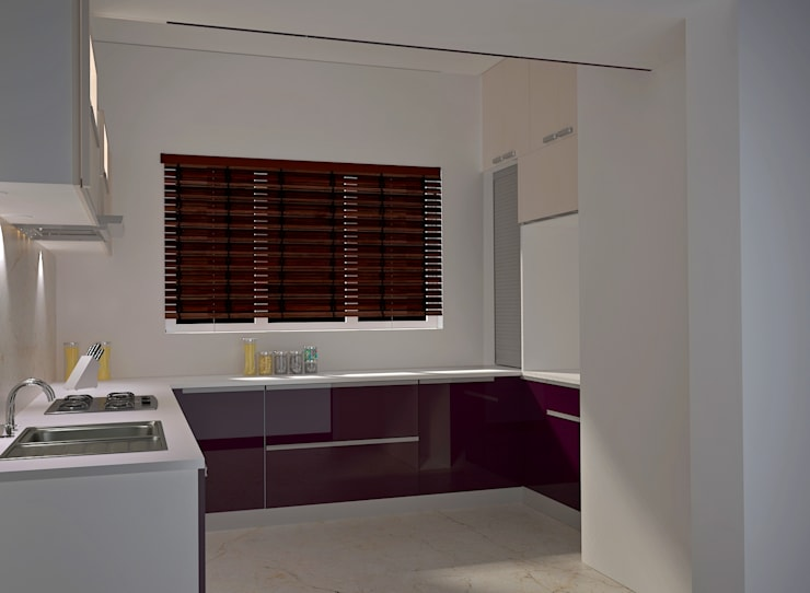 Independent Bungalow, RR Nagar—Mr. Mohan:  Built-in kitchens by DECOR DREAMS