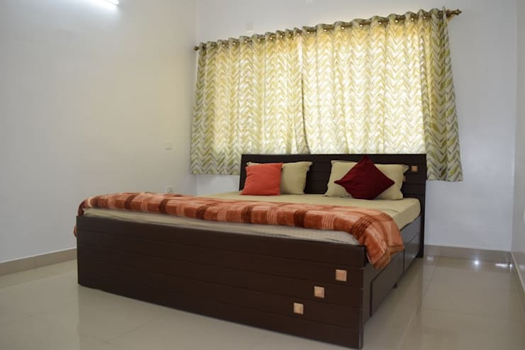 L&T South city, 3 BHK—Mr. Sundaresh:  Bedroom by DECOR DREAMS