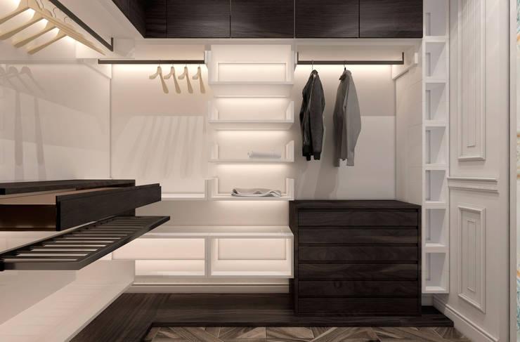 Phòng thay đồ by U-Style design studio