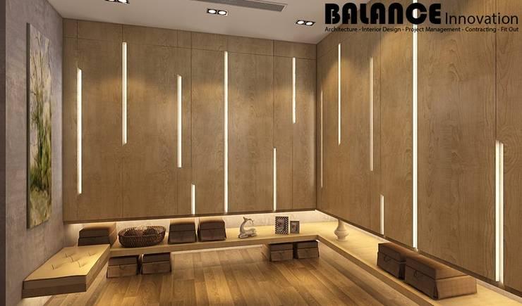 Dressing Room:   تنفيذ Balance Innovation