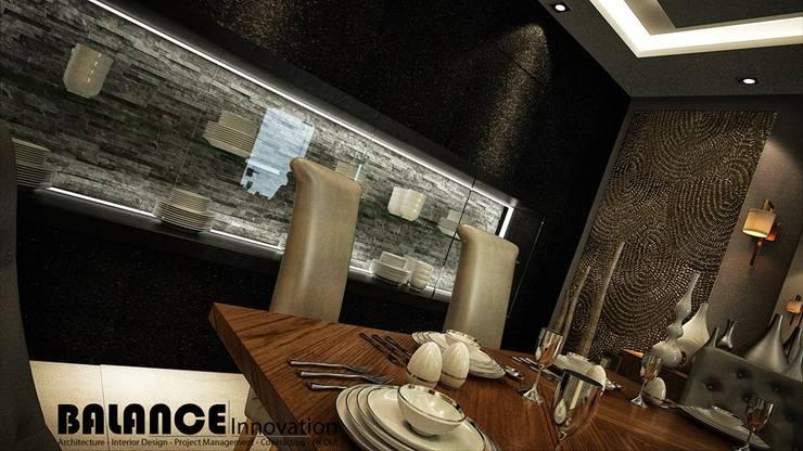 Dining Room:   تنفيذ Balance Innovation